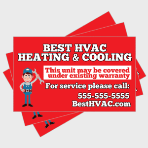 Simple HVAC Sticker