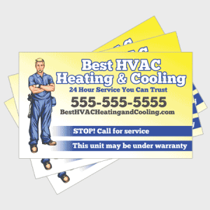 Trusted HVAC Sticker