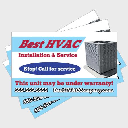 Reliable HVAC Sticker