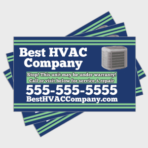 Relax HVAC Sticker