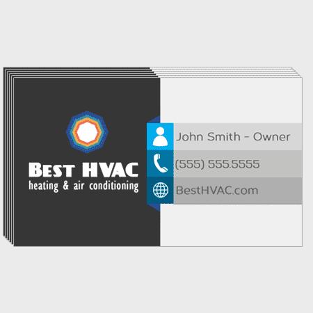 Sunburst HVAC Business Cards