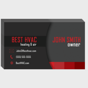 Portal HVAC Business Cards