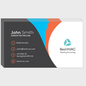 Arc HVAC Business Cards