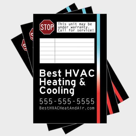 Blacklight-Log-HVAC-Sticker
