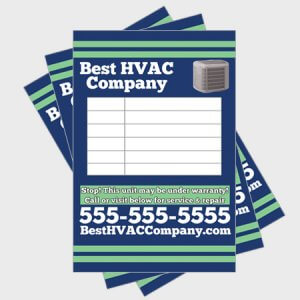 Relax-Log-HVAC-Sticker