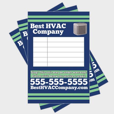 Relax-Log-HVAC-Sticker