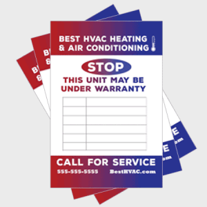 Gradual Log HVAC Sticker